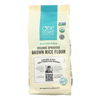Sprouted Brown Rice Flour - Organic - Case of 6 - 24 oz..