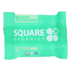 Square Organics Organic Protein Bar - Chocolate Coated Mint - Case of 12 - 1.7 oz. HGR 1649128