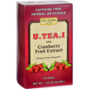 Tea - Urinary Tract Support - U-Tea-I - with Cranberry Fruit Extract - 20 Bags