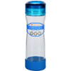 hgr: Full Circle Home - Water Bottle - Travel - Glass - Hydrate Mate - Blueberry - 16 oz