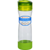 hgr: Full Circle Home - Water Bottle - Travel - Glass - Hydrate Mate - Green Slate - 16 oz