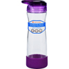 hgr: Full Circle Home - Water Bottle - Travel - Glass - Hydrate Mate - Elderberry - 16 oz