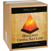 Evolution Salt Crystal Salt Lamp - Pyramid - 7 inches - 1 Count HGR 1702067