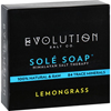 soaps and hand sanitizers: Evolution Salt - Bath Soap - Sole - Lemongrass - 4.5 oz