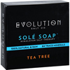Evolution Salt Bath Soap - Sole - Tea Tree - 4.5 oz HGR 1702307