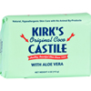 soaps and hand sanitizers: Kirk's Natural - Kirks Natural Bar Soap - Coco Castile - Aloe Vera - 4 oz