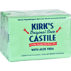 Clean and Green: Kirk's Natural - Kirks Natural Bar Soap - Coco Castile - Aloe Vera - 4 oz - 3 Pack
