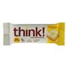 Think! Thin High Protein Bar - Lemon Delight - Case of 10 - 2.1 oz.. HGR 1705094