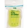 Shampoo Body Wash Bath Accessories: Earth Therapeutics - Loofah - Super - Body Scrubber - Green - 1 Count