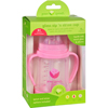 hgr: Green Sprouts - Cup - Sip N Straw - Glass - 6 Months Plus - Pink - 1 Count