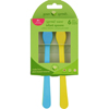 hgr: Green Sprouts - Infant Spoons - Sprout Ware - 6 Months Plus - Aqua Assorted - 6 Pack