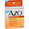 Cough Cold Tablets Capsules: Azo - Bladder Control - 54 Capsules