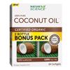 Supplements Food Supplements: Nature's Science - Coconut Oil - 100 Percent Pure - 84 Softgels