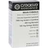 Creative Bioscience Brain Formula - 60 Vegetarian Capsules HGR 1726165