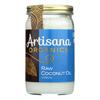 Artisana Oil - Coconut - Case of 6 - 14 FL oz.. HGR 1728237
