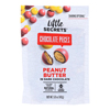Little Secrets Dark Chocolate Candies - Peanut Butter - Case of 8 - 5 oz.. HGR 1730597