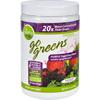 To Go Brands Inc Superfood Blend - Go Greens - Powder Mix - Purple - Saskatoon Blackberry - 8.5 oz HGR 1732056