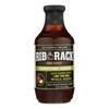 Rib Rack BBQ Sauce - Campfire Cider - Case of 6 - 19 oz.. HGR 1732296