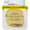 Blue Avocado Lunch Bag - Re-Zip Seal - Green - 2 Pack HGR 1736685