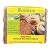 Organic Bread - Whole Rye Oat - Case of 6 - 17.6 oz.