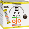 Ojo Eye Care Crystals - Citrus Lutein Burst - 30 Packets HGR 1738996