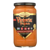 Victoria Pasta Sauce - Red Pepper Alfredo - Case of 6 - 18 fl oz. HGR 1740273
