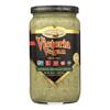 Victoria Vegan Sauce - Alfredo Arugula Pesto - Case of 6 - 18 Fl oz.. HGR 1740299