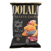 Potato Chips - Black Truffle and Olive Oil - Case of 9 - 5 oz..