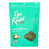 Organic Sprouted Bites - Sweet Spirulina - Case of 12 - 3 oz..
