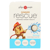 Condition Specific Digestion Aids: Ginger People - Ginger Rescue - Strong - 24 Chewable Tablets - Case of 10