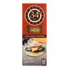 34 Degrees Crispbread - Cracked Pepper - Case of 18 - 4.5 oz.. HGR 1757079