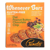 Pamela's Products Whenever Bars Chocolate Chip - Peanut Oat Butter - Case of 6 - 7.05 oz.. HGR 1774199