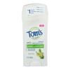 Tom's of Maine Long Lasting Deodorant - Tea Tree - Case of 6 - 2.25 oz.. HGR 1776913