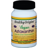 Herbal Homeopathy Herbal Formulas Blends: Healthy Origins - Astaxanthin - Natural - 4 mg - 60 Vegetarian Capsules