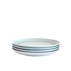 Bambeco Dakota Mist Porcelain Salad Plate - Case of 4 - 4 Count HGR 1781475