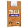 Riega Foods Organic Chili Seasoning - Case of 8 - 0.9 oz.. HGR 1787050