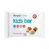 snacks: SimplyProtein - Kids Bar - Strawberry Vanilla - .7 oz - Case of 12