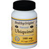 Minerals Coenzyme Q10: Healthy Origins - Ubiquinol - Natural - 100 mg - 60 Vegetarian Softgels