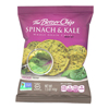 Whole Grain Chips - Spinach and Kale - Case of 27 - 1.5 oz..