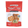 Pretzel Crisp Pretzel Crisps - Everything - Case of 12 - 7.2 oz.. HGR 1799915