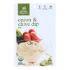 Simply Organic Onion and Chive Dip Mix - Case of 12 - 1 oz.. HGR 1821156