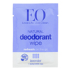 Eo Products Deodorant Wipes - Lavender - Case of 24 - 1 Each HGR 1821438