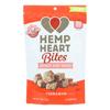 chips & crackers: Manitoba Harvest - Hemp Heart Bites - Cinnamon - 4 oz - Case of 12