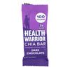 Health Warrior Chia Bar - Dark Chocolate - Case of 15 - 0.88 oz.. HGR 1834373