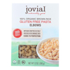 Jovial Gluten Free Brown Rice Elbow - Case of 12 - 12 oz. HGR 1837467