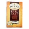 Twinings Tea Black Tea - Earl Grey Jasmine - Case of 6 - 20 Count HGR 1840289
