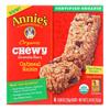 Annie's Homegrown Organic Chewy Granola Bars Oatmeal Raisin - Case of 12 - 5.34 oz.. HGR 1856467