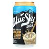 Natural Soda - Cream - Case of 4 - 12 oz..