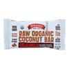 Jennies Organic Goji Moji Raw Coconut Bar - Case of 12 - 1.5 oz.. HGR 1858091