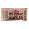 Jennies Organic Cacao Powder Coconut Bar - Case of 12 - 1.5 oz.. HGR 1858109